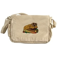 Wisconsin Badger Messenger Bag