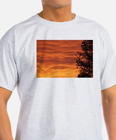 Funny Sunset clouds T-Shirt