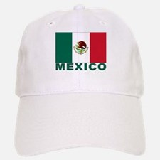 Mexico Flag Baseball Baseball Cap