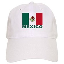 Mexico Flag Baseball Cap