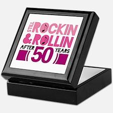 50th Anniversary Funny Gift Keepsake Box