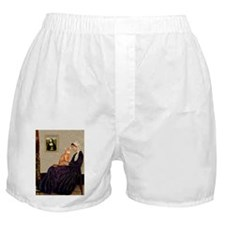 Mom's Red Abyssinian Boxer Shorts