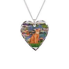Unique Kitten art Necklace