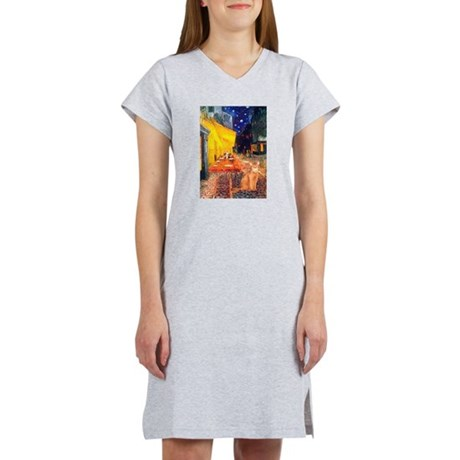 Cafe & Red Abyssinian (S) Women's Nightshirt