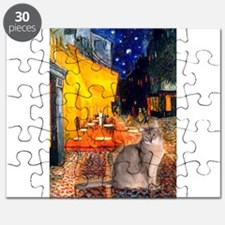 Cafe & Blue Abbysinian Puzzle
