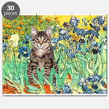 Irises / Tiger Cat Puzzle