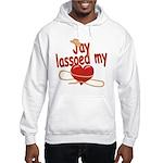 Jay Lassoed My Heart Hooded Sweatshirt