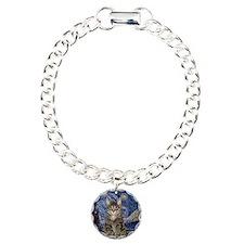 Starry Night & Tiger Cat Bracelet