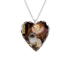Queen & Himalayan cat Necklace