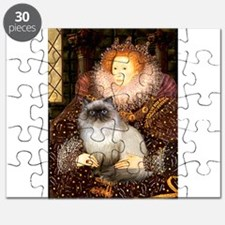 Queen & Himalayan cat Puzzle
