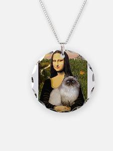 Mona's Himalayan Cat Necklace
