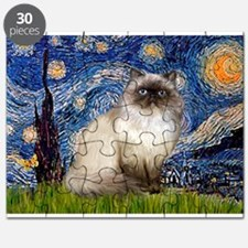 Starry Night Himilayan (#1) Puzzle