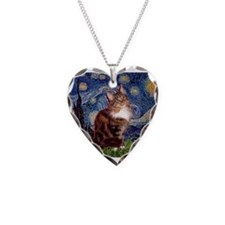 Starry Maine Coon Necklace