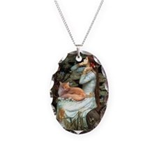 Ophelia / Maine Coon cat #11 Necklace