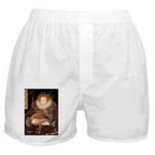 Queen / Red Maine Coon Boxer Shorts