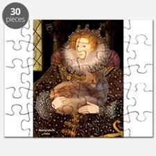 Queen / Red Maine Coon Puzzle