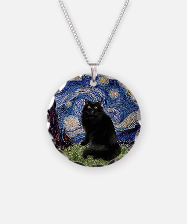 Starry Night /Persian (bl) Necklace
