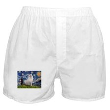 Starry Night Ragdoll Boxer Shorts
