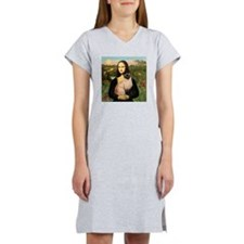 Mona's Siamese cat Women's Nightshirt