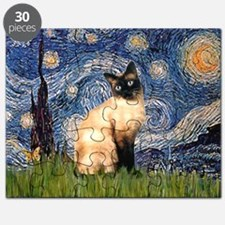 Starry Night Siamese Puzzle