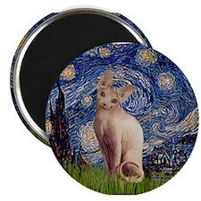 Starry Night / Sphynx Magnet