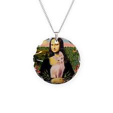 Sphynx Cat & Mona Lisa Necklace