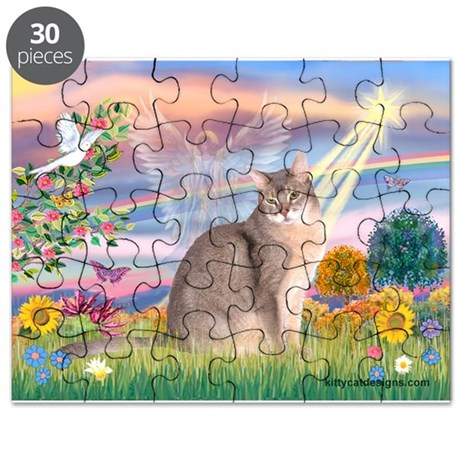 Cloud Angel & Blue Abby Puzzle