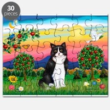 Bright Country / (B&W) Cat Puzzle