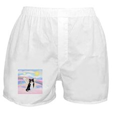 Clouds / (B&W) Cat Boxer Shorts