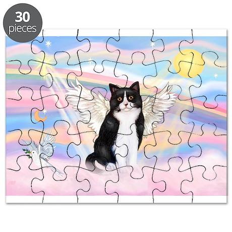 Clouds / (B&W) Cat Puzzle