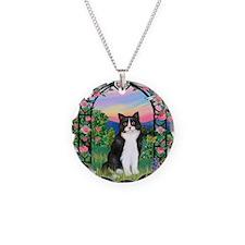 Arbor / (B&W) Cat Necklace