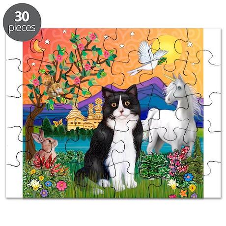 FantasyLand/B&W Cat Puzzle