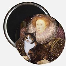 The Queen's Calico Cat (#1) Magnet