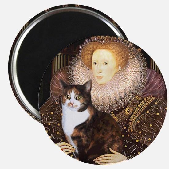 The Queen's Calico Cat (#1) Magnet