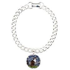 Starry Night & Calico Cat (#1 Bracelet