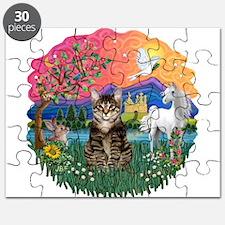 Fantasy Land/Tabby Tiger Cat Puzzle