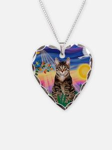 Twilight / Tab Tiger Cat Necklace