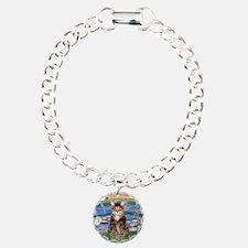 Lilies / Tab Tiger Cat Bracelet