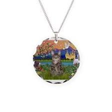Fantasy Land / Tiger Cat Necklace