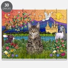Fantasy Land / Tiger Cat Puzzle