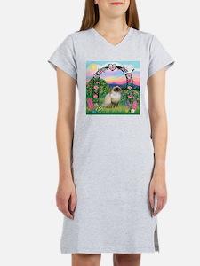 Rose Arbor / Himalayan Cat Women's Nightshirt