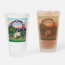 Rose Arbor / Himalayan Cat Drinking Glass
