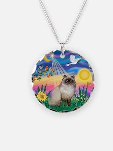 Twilight / Himalayan Cat Necklace