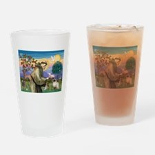 St Francis Himalayan Drinking Glass