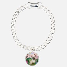 Blossoms & Himalayan cat Bracelet