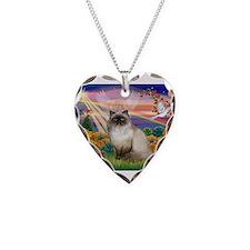 Autumn Angel Himalayan Necklace