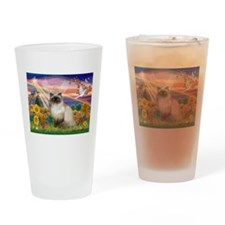 Autumn Angel Himalayan Drinking Glass