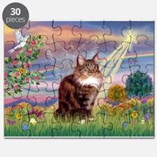Cloud Angel & Maine Coon Puzzle