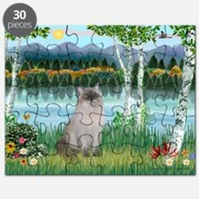 Birches / Ragdoll Puzzle