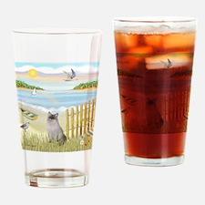Rowboat / Ragdoll Drinking Glass